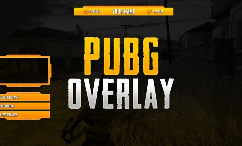PUBG mobile overlay