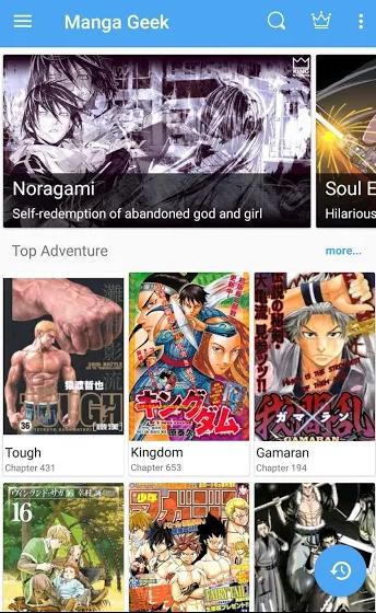Manga apps