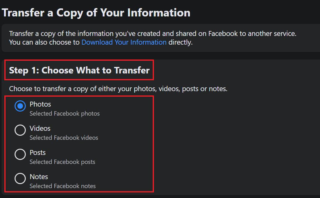 Export Your Facebook Posts