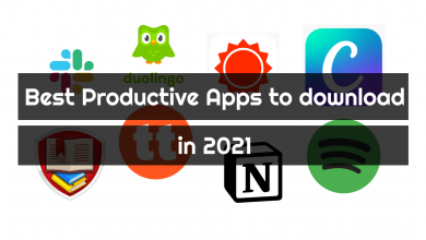 Photo of Best Productive Apps to Download in 2021